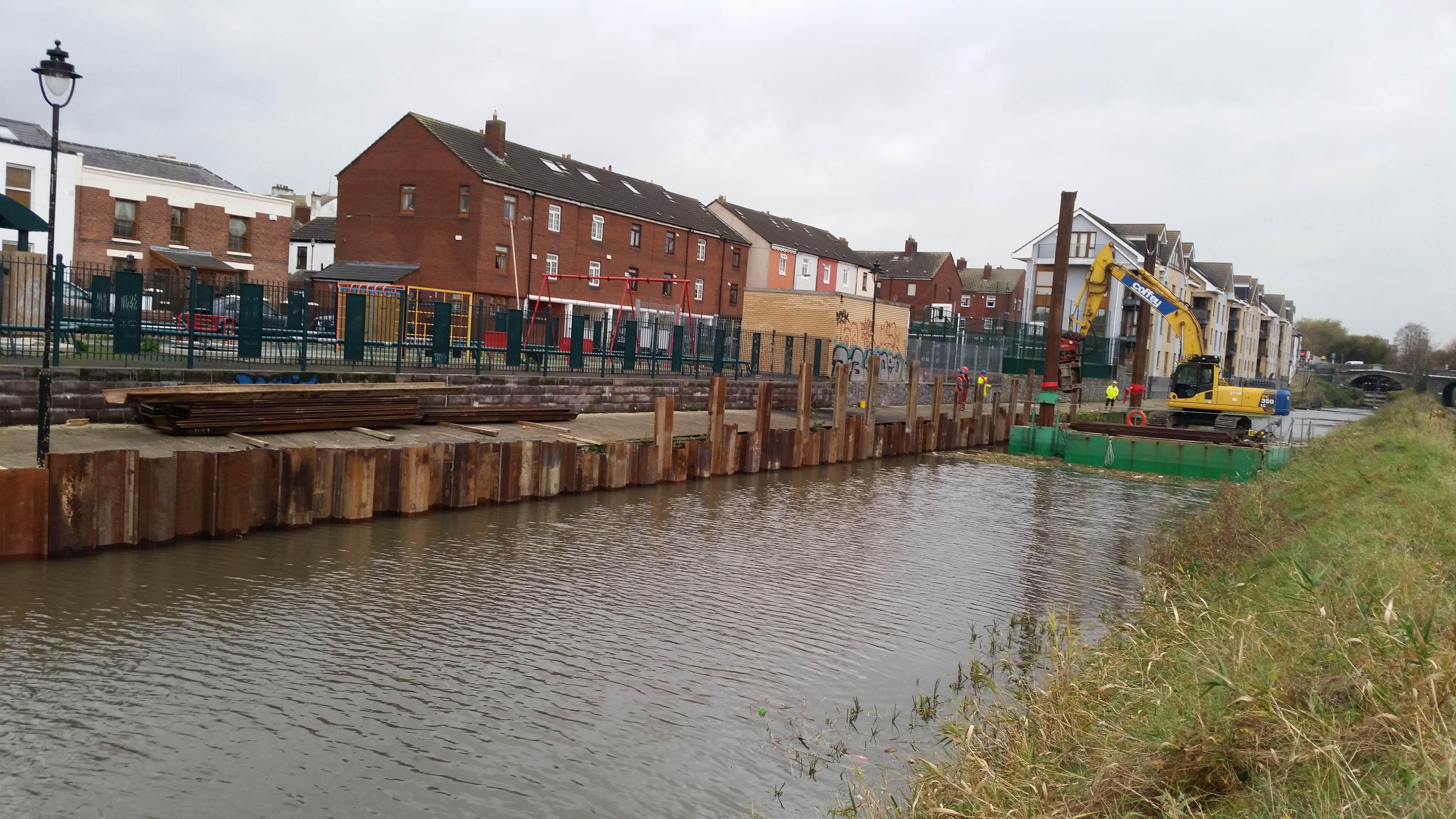 Dodder River Coastal Flood Alleviation Work - Welcome to