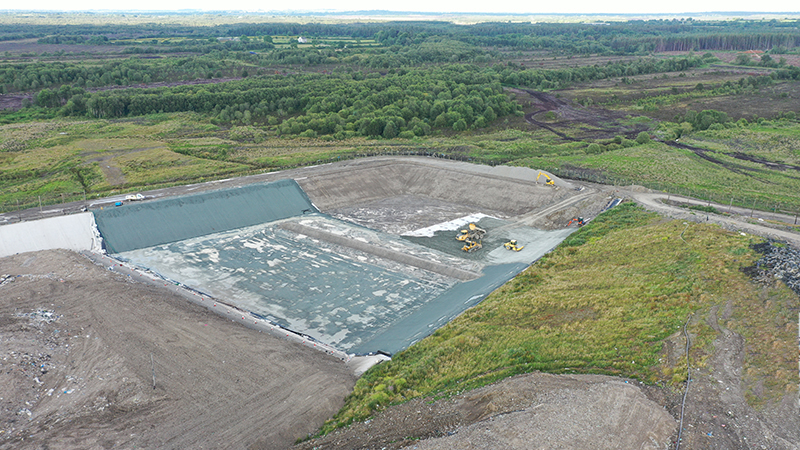 Coffey Works at Drehid Landfill - Kildare - July 2021