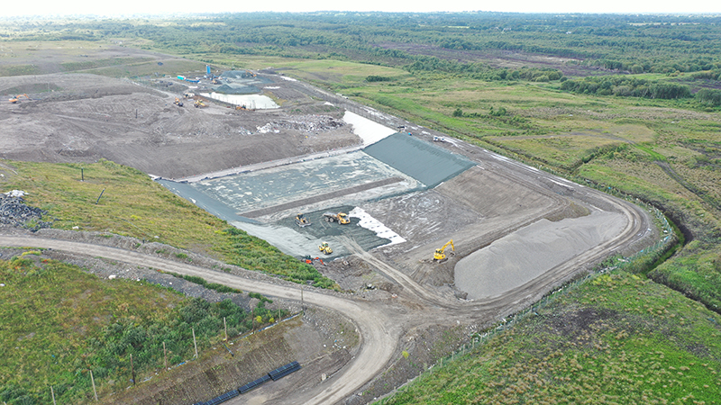 Coffey Works at Drehid Landfill - Co Kildare July 2021